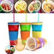 Snackeez 2 In 1 Snack Drink Cup 600 Ml Bottle | Home Appliances for sale in Greater Accra, Airport Residential Area