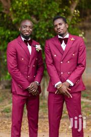 Double Breasted Wine Suit - Size 50 | Clothing for sale in Greater Accra, East Legon