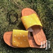 Pearl Mustard Slides | Shoes for sale in Greater Accra, Tema Metropolitan