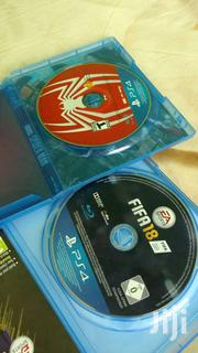 Spiderman And Fifa 18 Cd Ps4   Video Game Consoles for sale in Central Region, Cape Coast Metropolitan