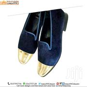 Handmade Men Shoe, Suede With Gold | Shoes for sale in Eastern Region, Asuogyaman