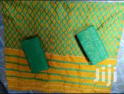 Beautiful Yellow And Green Shinny Kente | Clothing for sale in Greater Accra, Labadi-Aborm