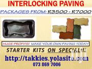 Paver Moulds - Start Making Concrete Pavers | Manufacturing Equipment for sale in Upper East Region, Bolgatanga Municipal
