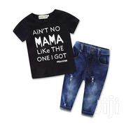 Spunky Fashion Boy 2PCS Set | Children's Clothing for sale in Greater Accra, Old Dansoman