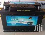 15 Plates Winar Battery Premium + Free Delivery-kia Rio Cerato Optima | Vehicle Parts & Accessories for sale in Western Region, Ahanta West