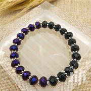Jewelry 8MM 5040 Glass Crystal Beads Flower Piece Stretch Bracelet | Jewelry for sale in Greater Accra, Ga South Municipal
