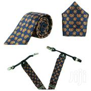 Suspender Plus Tie And Pocket Square | Clothing Accessories for sale in Greater Accra, Tema Metropolitan