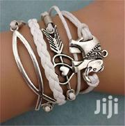 Friendship Leather Charm Bracelet Plated Silver | Jewelry for sale in Greater Accra, Ga South Municipal