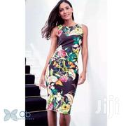 Purple Multi Coloured Floral Bodycon Next UK Dress | Clothing for sale in Greater Accra, Achimota