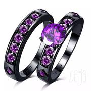 Top Quality Purple Engagement Wedding Ring Set | Watches for sale in Greater Accra, Tema Metropolitan