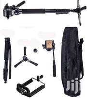 Yunteng Monopod VCT-588 With Fluid Head | Cameras, Video Cameras & Accessories for sale in Greater Accra, Roman Ridge