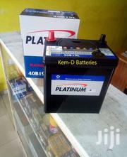 11 Plates Platinum Car Batteries/Free Delivery/For Small Engines | Vehicle Parts & Accessories for sale in Greater Accra, Airport Residential Area