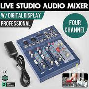 4 Channel Mixer With USB/ Studio Live Mixer | Musical Instruments for sale in Greater Accra, Cantonments