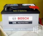 12 Volts 74ah 15 Plates Bosch Car Battery/Free Delivery/VW Golf Passat | Vehicle Parts & Accessories for sale in Greater Accra, Burma Camp