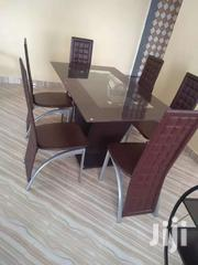 6 Set Tempered Glass Dinning Table | Furniture for sale in Greater Accra, Adenta Municipal