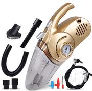 Multi-function 4 In 1 Portable Tire Gauge Car Vacuum Cleaner | Makeup for sale in Greater Accra, Adenta Municipal