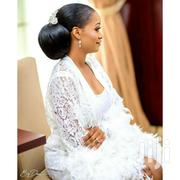 Lace Feathered Robe | Clothing for sale in Greater Accra, North Labone