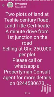 Two Plots For Quick Sale At Teshie Century | Land & Plots For Sale for sale in Greater Accra, Accra Metropolitan