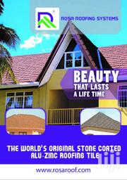 ROSA ROOFING SYSTEMS - A STONE COATED METAL ROOFING TILES/SHINGLES | Building Materials for sale in Greater Accra, Achimota