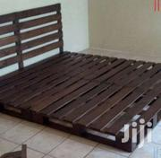 Wooden Bed Frame | Furniture for sale in Greater Accra, Achimota