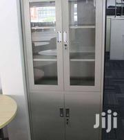 Steel Cabinet With Glass Doors | Doors for sale in Greater Accra, Achimota