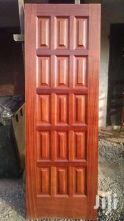 POLISHED WOODEN DOORS FOR SALE AT ASHAIMAN TIMBER MARKET | Doors for sale in Greater Accra, Ashaiman Municipal