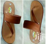 Men Brown Leather Sandals | Shoes for sale in Greater Accra, New Mamprobi