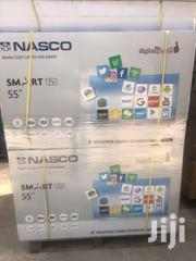 "NASCO 55"" Curve Smart Satellite 4k Tv 