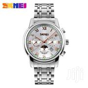 Business Skmei Chronograph Watch-white | Watches for sale in Greater Accra, Achimota