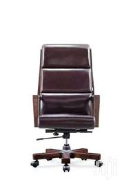 Nice Leather Swivel Chair | Furniture for sale in Greater Accra, North Kaneshie