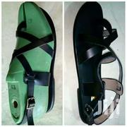 Men Cute Black Leather Sandals | Shoes for sale in Greater Accra, New Mamprobi