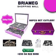 SILVER 86 PIECE 18/10 STAINLESS STEEL CUTLERY SET | Home Appliances for sale in Greater Accra, North Kaneshie
