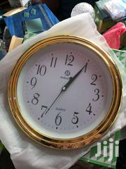 Roundvgold Wall Clock | Home Accessories for sale in Greater Accra, Accra Metropolitan