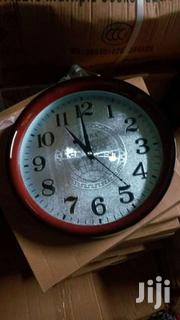 Wall World Clock Silver 45ghc | Home Accessories for sale in Greater Accra, Accra Metropolitan
