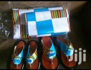 Nyame Akwan Bonwire Kente | Shoes for sale in Greater Accra, Labadi-Aborm