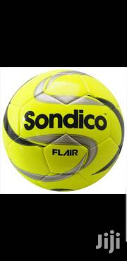 Sondico Leather Football Size 5 Yellow   Sports Equipment for sale in Greater Accra, Achimota