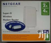NETGEAR DG834GT SUPER-G WIRELESS ROUTER With Wireless USB 2.0 Adaptor | Computer Accessories  for sale in Greater Accra, Dansoman