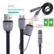 2in1 Micro USB Lightning Charger Cable For iPhone iPad Samsung Andriod | Computer Accessories  for sale in Greater Accra, North Ridge