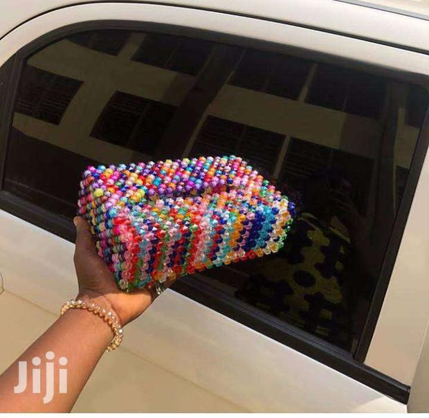 Archive: Beaded Tissue Box Covers