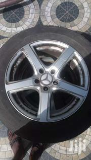 Set Of 4 Alloy Rim 17 With Tyres | Vehicle Parts & Accessories for sale in Greater Accra, Kwashieman