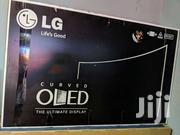 LG 55inch OLED Smart Satellite Curved Digital Super Slim Tv | TV & DVD Equipment for sale in Greater Accra, Darkuman