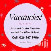 Arts And Crafts Teacher Wanted For After School Service | Arts & Entertainment Jobs for sale in Greater Accra, Achimota