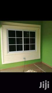 White Window With Black Glass | Windows for sale in Eastern Region, Akuapim South Municipal