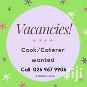 Cook/Caterer Wanted For Preschool   Accounting & Finance Jobs for sale in Greater Accra, Achimota