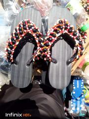 Beaded Slippers | Shoes for sale in Greater Accra, Airport Residential Area