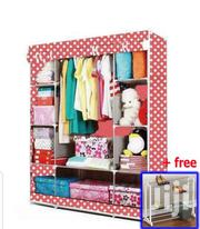 KS153 FABRIC WARDROBE | Furniture for sale in Greater Accra, Kotobabi