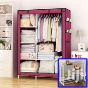 GY02 Foldable Wardrobe- Wine | Furniture for sale in Greater Accra, Kotobabi