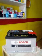 Bosch Car Batteries 74ah 15 Plates + Free Instant Delivery | Vehicle Parts & Accessories for sale in Greater Accra, Osu