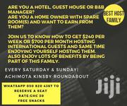 Be A Host And Earn Good Income | Classes & Courses for sale in Eastern Region, Asuogyaman