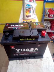 13 Plates Yuasa Battery + Free Delivery-yaris Getz Accent Rio | Vehicle Parts & Accessories for sale in Greater Accra, North Kaneshie